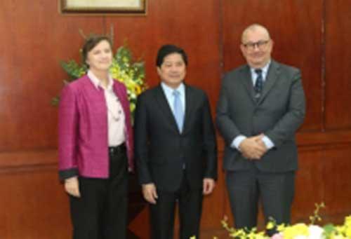 Cuộc họp cấp cao với Thứ trưởng Bộ Nông nghiệp và Phát triển Nông thôn